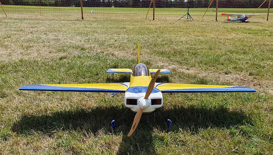 The different types of R/C planes
